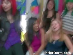 College Amateur Girls Getting Banged At Dorm Room Party
