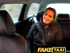 FakeTaxi First time anal virgin takes on big thick cock