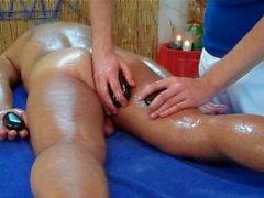 Sensual Stone Massage Experience 2 - Часть две - массажа портала США Канада