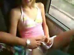 ondeugende op bus