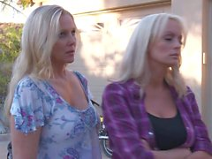 Horny blondes Julia Ann and Stormy Daniels