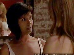 Шелли Конн & Анна Торв Лесбийский секс во любовниц