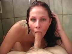 Gianna Michaels fodido no chuveiro