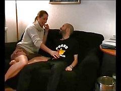 Amateur hot milf riding friend cock