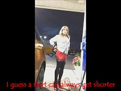 How short can a mini skirt be?