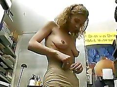 Duitse amateur dame betaald aan een porno scène Sascha Production doen
