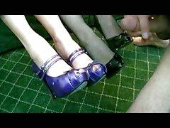 Limpia de calzado .