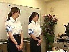 Caliente lindo chica japonesa Zarandear la
