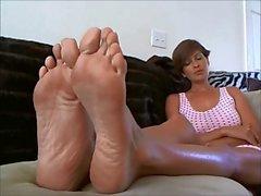 Foot Worship Instructions JOI for BNP Men by Hazel Blonde