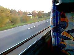 pequeña diversión en el autobús sin De Semen