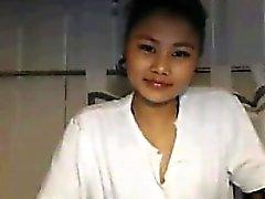 Милый Азии девушка От Thailand