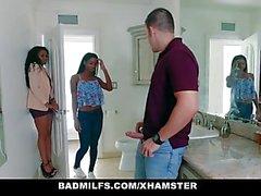 BadMilfs - Ebony ИФОМ трахается зятем