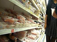 Chinese Shopper Upskirted