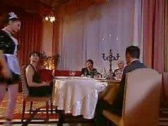 Maid gebruikt door een Italiaanse Diner