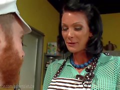 TS House Wife Fucks The Milkman