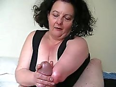 Big tits double amputee working cock to a climax with stumps