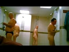 spycam..gym showers,,straight cock