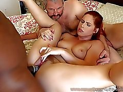 Edyn Blair Gets Fucked By Big Black Cock Alors Hubby Montres