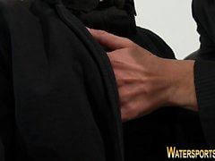 Bekleidet Prostituierte sauer auf