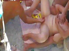 thesandfly nude de Playa sexo campo de juego!