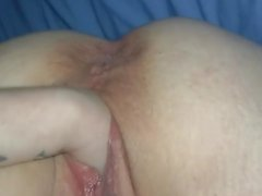 BBW facefucked and fist fuck by FtM