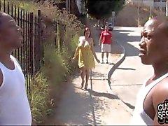 Gianna de Michaels hacer trampa a su novio con los negros