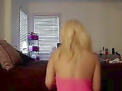 White Girl Shaking Ass And Big Tits