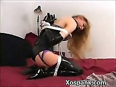Bdsm Woman Spanked Explicitly