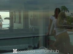 HD - lidande - HD Hottest en trekant med Holly Michaels samt Tasha regeringstid