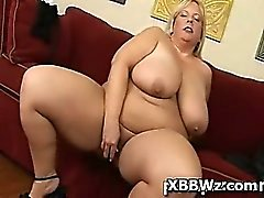 Alluring Perky Spicy BBW Drilled