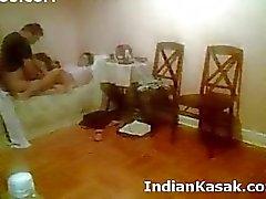 Indian Punjabin yliopiston pariskunta fucking kova makuuhuone