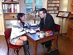Duitse leraar neuken Roemeens schoolmeisje