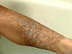 Волосатая девушки в ванны Часа