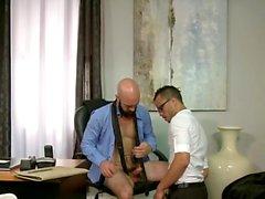 Big dick bear anal sex and cumshot