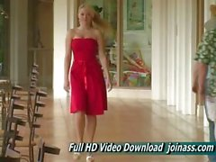 Hechos Red Dress a Alison Angel A sexy como una modelo