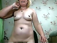 Martha Mature And Her Hairy Wet Pussy