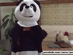 Nicole Aniston & Lucas helada Panda Estilo