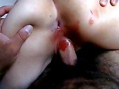 Карла Мексикана cogiendo mientras menstrua