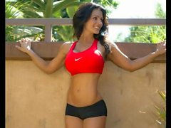 Denise Milani gerade Fitness - Non Nackt