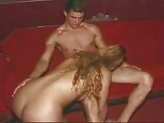Amateur sex with a TS in a night club