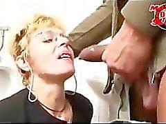 Mature toilet slut-candice