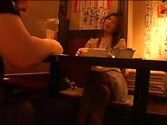 Charming Japanese lady with amazing big hooters worships a