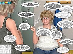 3d sarjakuva: uhkaava syksyllä innocence.fearsome elokuvan kohtauksen 23