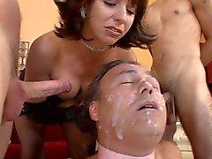 Cuckold bi at hands of brutal mistress