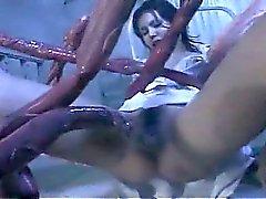 Explosión tentaculos extraño pandillas córnea la enfermera asian