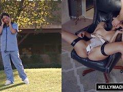 KELLY MADISON - Sexy Nurse Vanessa Limite do céu e Ass fodido