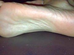 Sleepy Fuß Fetisch & Sleepy Soles Tickle und langen Zehen (Kompilierung)