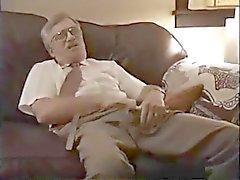 Oude Daddy Strook En Jerk Van