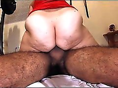 Fifty Year old With a Big Ass Riding Cock