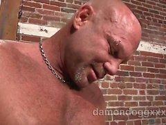 Super Sexy , vite prigioniera del muscoloso , il Ciad Brock era in città visita